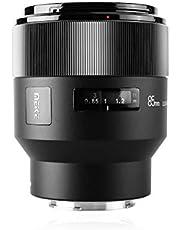 Meike 85mm F1.8 Handleiding Focus Auto Diafragma Medium Telephoto Vaste Prime Portret Lens voor Sony E Mount Volledige Frame Mirrorless Camera's A9 A7III A7II A7, Ondersteuning EXIF