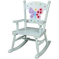 Olive Kids Butterfly Garden Rocking Chair