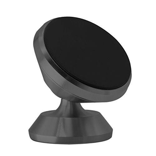 Car Phone Mount, Hovinso Magnetic Phone Holder for Car Universal Cell Phone Mount Dashboard Mount with 3m Traceless Rubber for iPhone X/8/8 Plus/7/7Plus Samsung S5/S6/S7 Edge(Black)