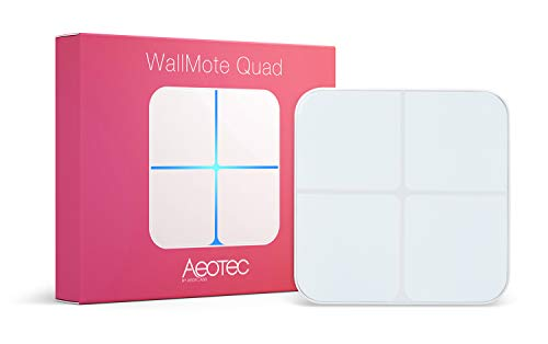 Aeon Labs Aeotec Z-Wave Wallmote Quad