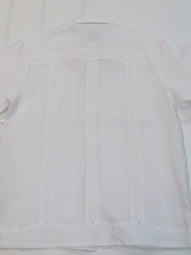 Authentic Guayabera 100/% Linen for Men Made in USA