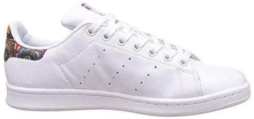 adidas Mujer Stan Smith W Basket Hueso (Footwear White /   Footwear White /   Mid Grey)
