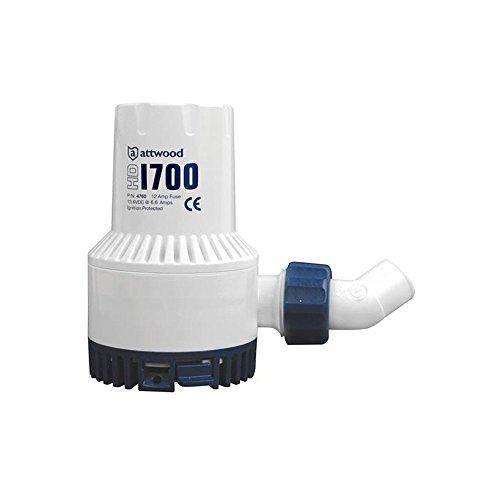 4730 Series - ATTWOOD MARINE 4730-4 / Attwood Heavy-Duty Bilge Pump 1700 Series - 12V - 1700 GPH