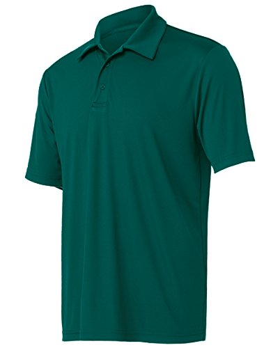 Opna Mens Dry-Fit Golf Polo - Sport Green Polo