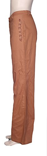 Lets Shop Shop - Pantalón - Campana - para mujer marrón claro