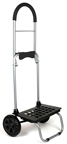 dbest products Mighty Max Personal Dolly, Black Handtruck Cart Hardware Garden Utilty