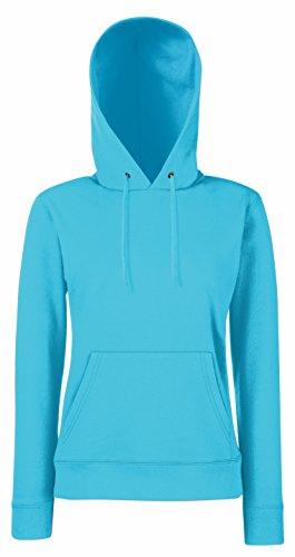 Femme Shirt Blu of Fruit Sweat the Capuche azure Loom B1qxYaw