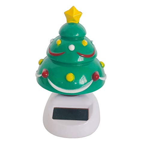 Dancing Christmas Tree Figurine