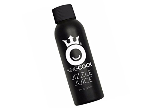 NEW King Cock Jizzle Juice Cum Scented Lubricant Ultimate Lifelike Substitute for Cum Play • Smells and Feels Like the Real Thing Specially Formulated for Friction-Free Fun 2 fl oz