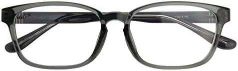 SHOWA ブルーライトカット 中近両用メガネ TRクラウド (メンズセット) 全額返金保証 ブルーライト カット 老眼鏡 おしゃれ メンズ 男性 メガネ 眼鏡 パソコン PC メガネ リーディンググラス (瞳孔間距離:63mm~65mm, 近くを見る度数:+1.5)