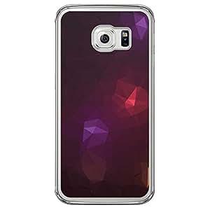 Loud Universe Samsung Galaxy S6 Edge Geometrical Printing Files A Geo 50 Printed Transparent Edge Case - Multi Color