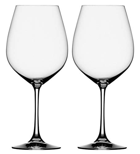 Cloudsell Red Wine Glass, Crystal Cut Rim, Clear, 465 ml, Set of 2 Price & Reviews