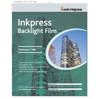 Inkpress Backlight Film - Inkpress Backlight Translucent White Semi-matte Inkjet Film, 4mil., 8.5x11