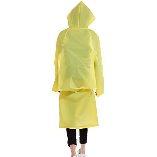 Giallo Uomini Xl colore Donne Dimensioni Escursionismo Antipioggia Poncho Nero Tuta E Adulti Per Impermeabile Grandi Rain Di Zhangqiang All'aperto UBvvSq