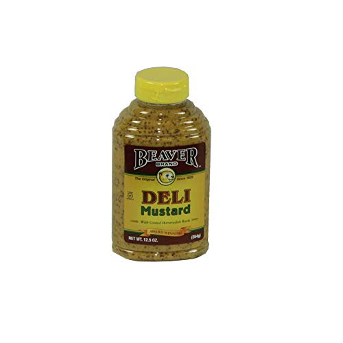 Beaver Brand Deli Mustard, 12.5-Ounce Squeezable Bottles (Pack of 6) Thank you for using our service ()