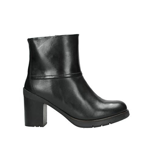 Wolky Leather Comfort 30000 Black Boots Eskara naxFrwqYa