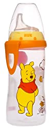 NUK Disney Winnie the Pooh Silicone Spout Active Cup, 10-Ounce