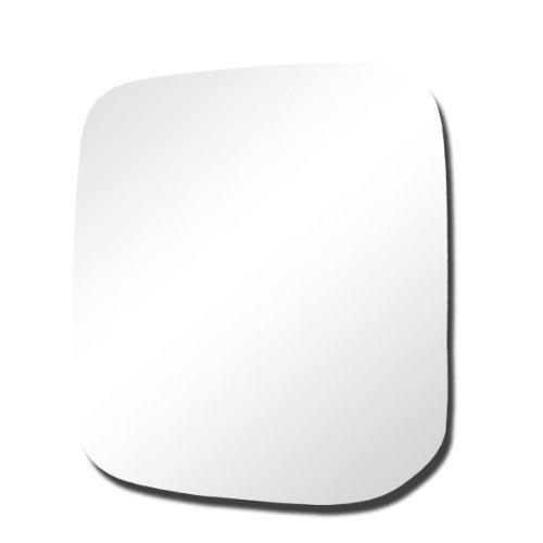 CarPartsDepot, Mirror Glass Left (Driver Side) Door View New Replacement, 369-2721 MI1323160