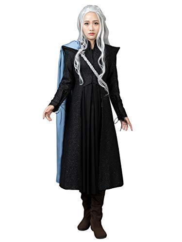 CosFantasy Queen Daenerys Targaryen Cosplay Costume Outfit