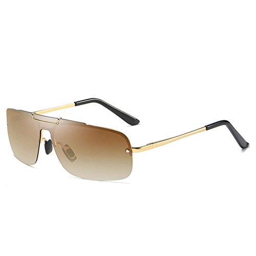 Hommes brown Polarized de et hommes Driver de plage grenouille miroir air en lunettes lunettes femmes plein conduite soleil soleil rUgrRwq