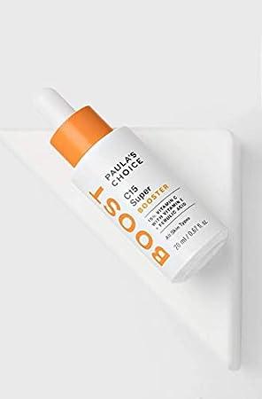 Paula's Choice C15 Booster Serum - Suero Facial con 15% Vitamina C - Antiarrugas y Despigmentante las Manchas - con Acido Ferulico & Vitamina E - Todos Tipos de Piel - 20 ml