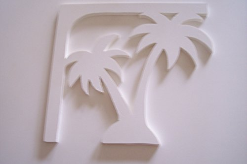 Palm Tree Decorative Corner Bracket