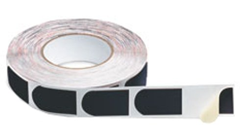 Storm Bowlers Tape Black Smooth 1'' 500/Roll