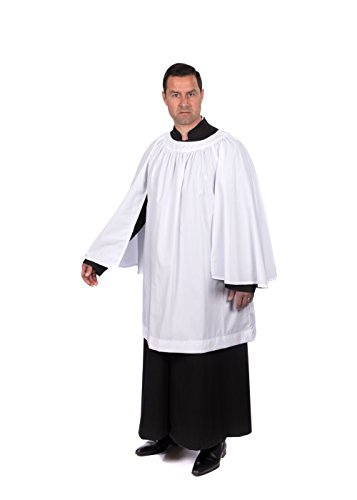 Organist Surplice (Sized by Length in inches) (34'') by Graduation Attire