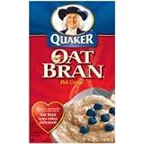 Pepsico Quaker Hot Cereal, Oat Bran, 16 Ounce - 12 per case.