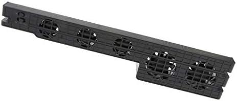PS4 Pro用 USB外部冷却ファン 温度制御クーラー 5ファン 3冷却モード