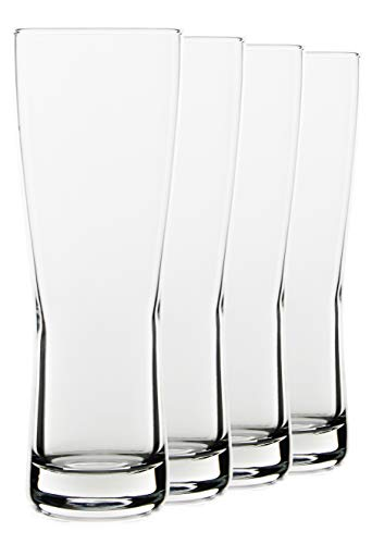 (20oz Tall Beer Glasses, Set of 4 by Serami)