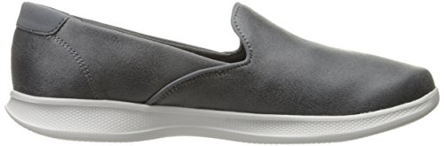 Performance Determined Lite Skechers Women's Charcoal Step Go Loafer Flat CdgBgwxq