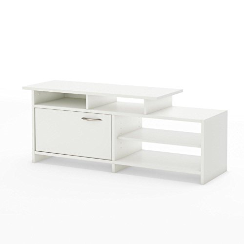 """Step One - TV Stand - Fits TVs Up To 42"""" - Pure White - by South Shore -  3160661"""