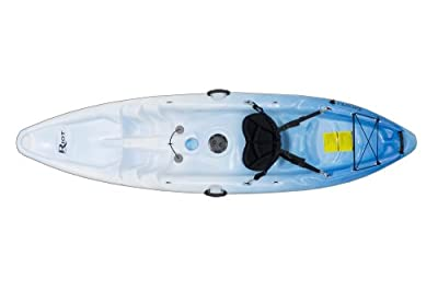 Riot Kayaks Escape 9 Sit-On-Top White/Blue 9ft Flatwater Recreational Kayak