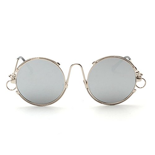 Hikote #5012 Round Design Summer Round UV 400 Protect Eye from Ray ()