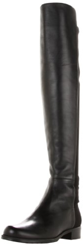 Stuart Weitzman Women's 5050 Over-the-Knee Boot,Black Nappa,7.5 M US