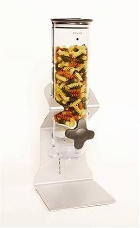 Zevro WMS100 Indispensable SmartSpace Countertop 13-Ounce Dry-Food Dispenser by Zevro: Amazon.es: Hogar