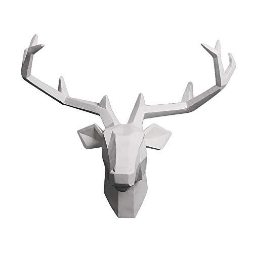 YJ Home Deer Head Mounted