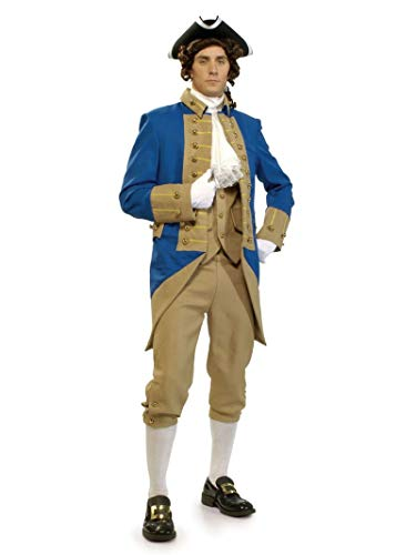Washington Capitals Halloween Costume (Deluxe George Washington Adult Costume -)