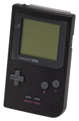 Game Boy Pocket System, Black