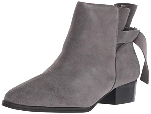Aerosoles Women's Crosswalk Ankle Boot, Grey Suede, 9 M US