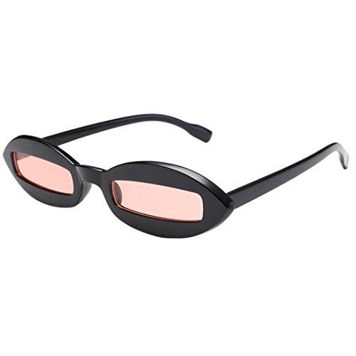 Occhiali Telaio per da Acetato UV Acetate Retro Bicchieri Frame Fancy Shades Sunglasses E Quadrate eyewear Telaio Glasses Fantasi Donne Quadrato sole qXtw8