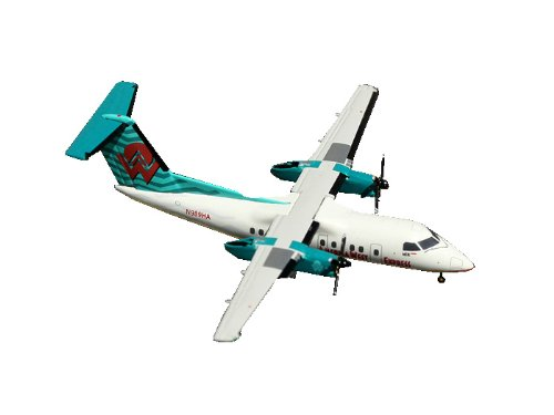 America West Dash 8-100 1:400 Scale (Gemini America Airlines West)