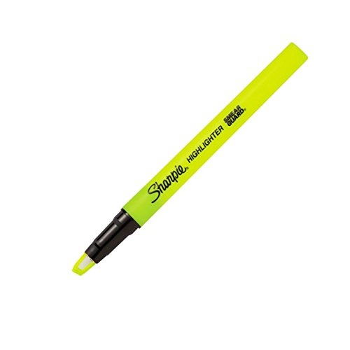Sharpie(R) Clear View(R) Stick Highlighters, Chisel Tip, Assorted Ink Colors, Pack Of 8 by Sharpie (Image #2)