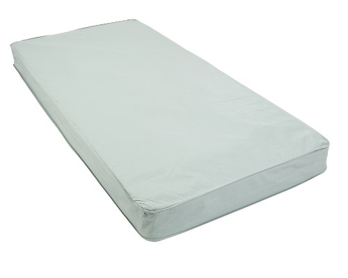 Drive Medical 15006EF Extra Firm Inner Spring Mattress, White (Drive Medical Quick N Easy Comfort Mattress)