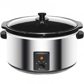 Cheap – Brentwood 8.0 quart Slow Cooker Stainless Steel