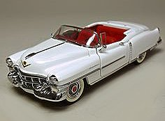 Franklin Mint Collectables (1/24 Scale 1953 Cadillac Convertible automobile by the Franklin Mint)