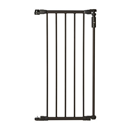 North States Supergate Deluxe Decor 15 gate extension, Matte Bronze by North States Industries