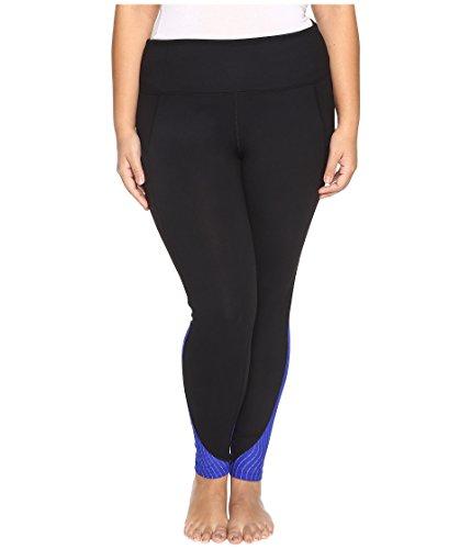 Marika Curves Women's Plus Size Jordan Glare Leggings Cobalt Ink Pants