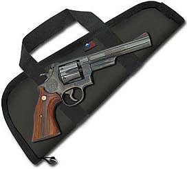 Ace Case 8-3/8'' Barrel Pistol Case with Handles Made in USA by Ace Case